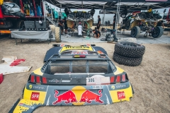 races during stage 8 of Rally Dakar 2019 from San Juan de Marcona to Pisco, Peru on January 15, 2019. // Flavien Duhamel/Red Bull Content Pool // AP-1Y4XVDXG92111 // Usage for editorial use only // Please go to www.redbullcontentpool.com for further information. //