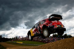 Esapekka Lappi (FIN) Janne Ferm (FIN) of team Citroen Total is seen racing during the Shell Helix Rally Estonia in Oteppa, Estonia on July 13, 2019 // Jaanus Ree/Red Bull Content Pool // AP-1ZXJ1T88S1W11 // Usage for editorial use only // Please go to www.redbullcontentpool.com for further information. //