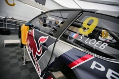 Sebastien Loeb performs at FIA World Rallycross Championship in Montalegre, Portugal on 28 April 2018 // @World / Red Bull Content Pool // AP-1VGK3H17N2111 // Usage for editorial use only // Please go to www.redbullcontentpool.com for further information. //