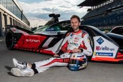 René Rast drives Audi Formula E car for the first time