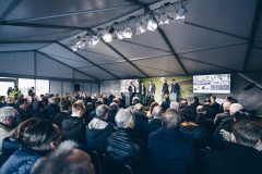 2018-11-21 Göteborg Volvo CE Electric Site event Electric. Foto: Jonas Ljungdahl