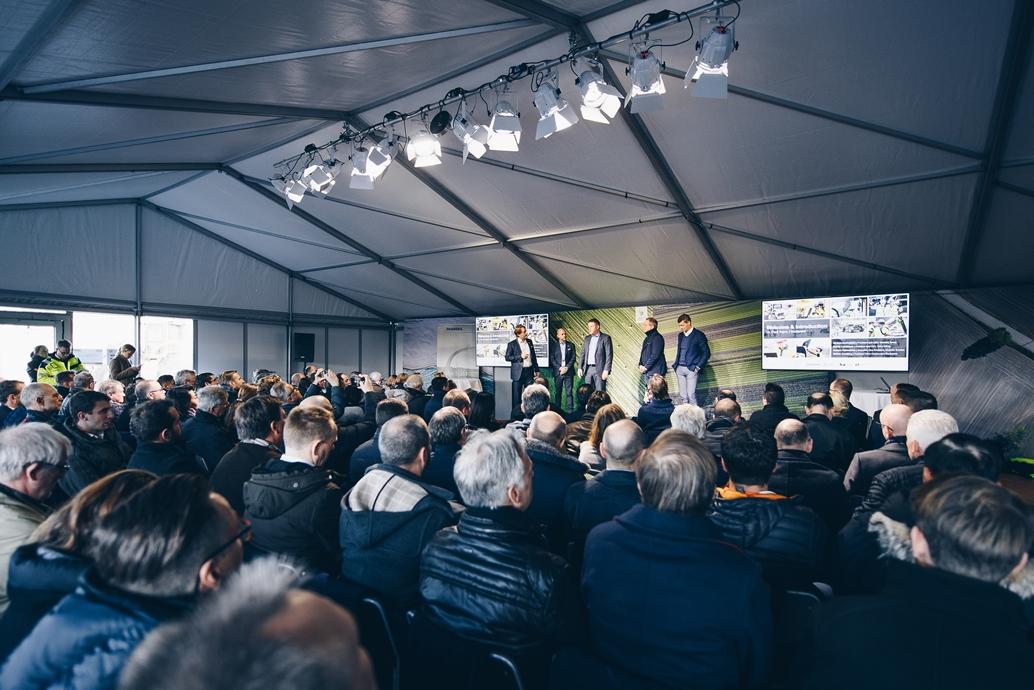 2018-11-21 Göteborg Volvo CE Electric Site event Electric. Foto: Jonas Ljungdahl