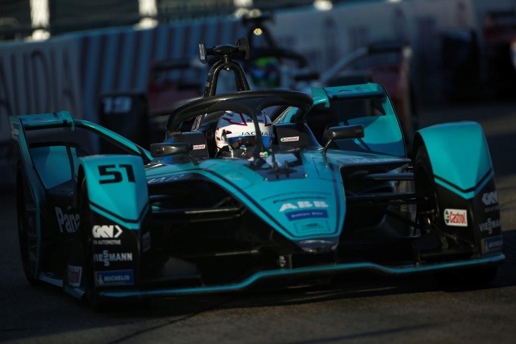 Tom Blomqvist (GBR), Panasonic Jaguar Racing, Jaguar I-Type 4