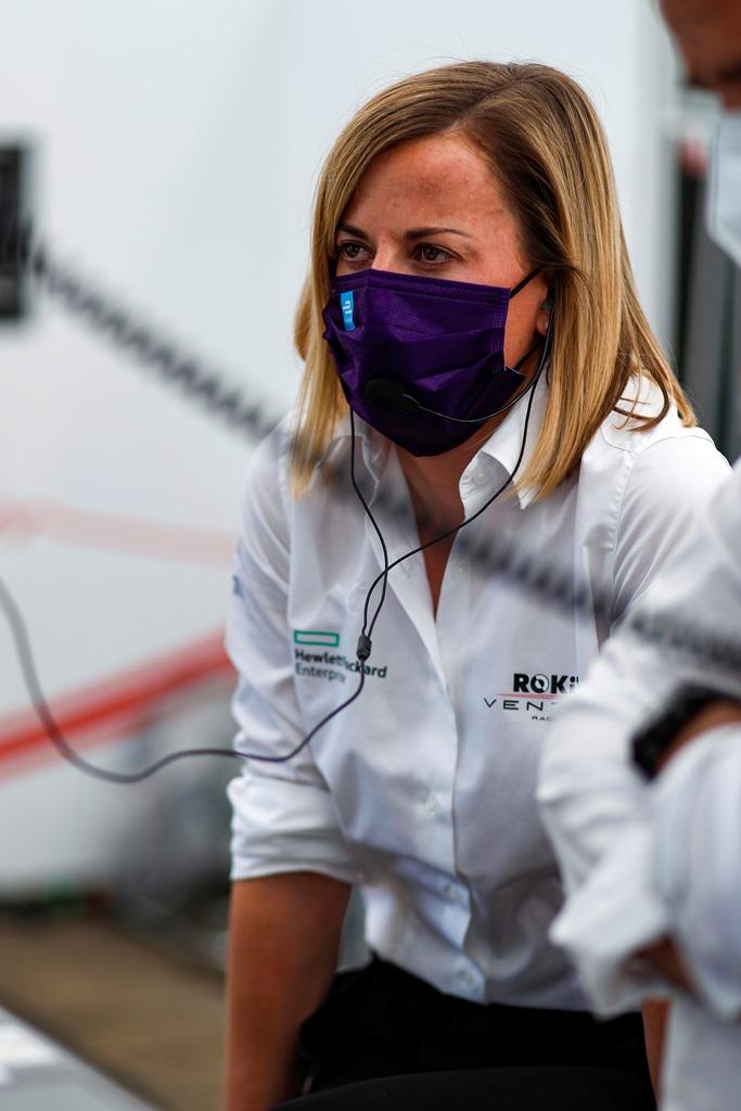 Susie Wolff, Team Principal, Venturi