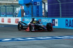 Oliver Rowland (GBR), Nissan e.Dams, Nissan IMO2 celebrates his victory