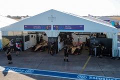 The DS Techeetah garage