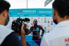 Robin Frijns (NLD), Envision Virgin Racing talks to the press