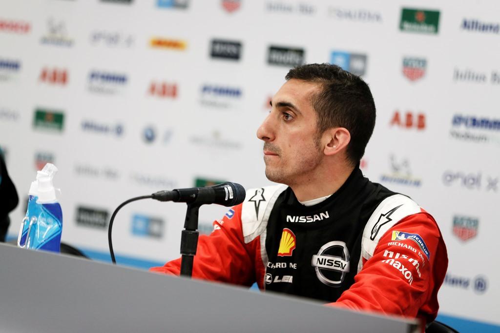 Sébastien Buemi (CHE), Nissan e.Dams, in the press conference