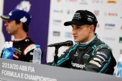 Mitch Evans (NZL), Panasonic Jaguar Racing, in the press conference