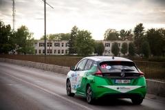 Nissan LEAF powers marathon across Europe