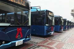 line-up_bus_byd_k9_service_Okinawa_Naha_Port_electric_motor_news