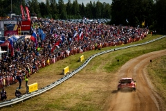 Esapekka Lappi (FIN) Janne Ferm (FIN) of team Citroen Total is seen racing during the Shell Helix Rally Estonia in Oteppa, Estonia on July 13, 2019 // Jaanus Ree/Red Bull Content Pool // AP-1ZXHZA2MD1W11 // Usage for editorial use only // Please go to www.redbullcontentpool.com for further information. //