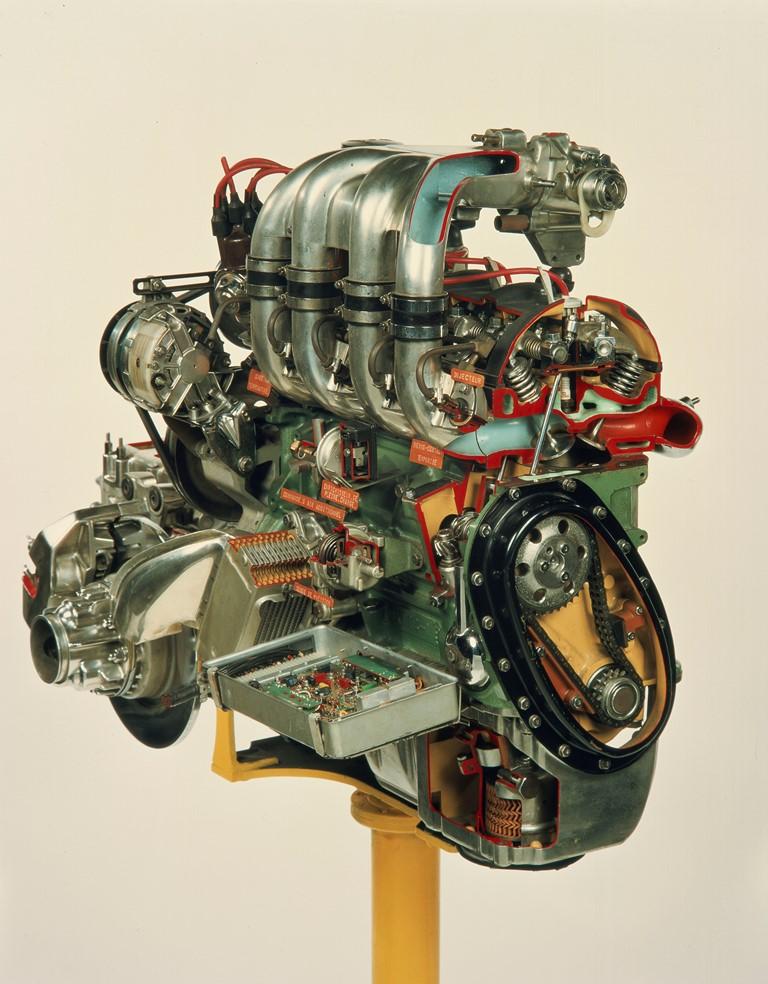 Gruppo motore della DS21 Injection Electronique