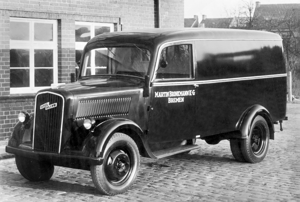 Opel Blitz 1,5 to Lieferwagen  (um 1950)