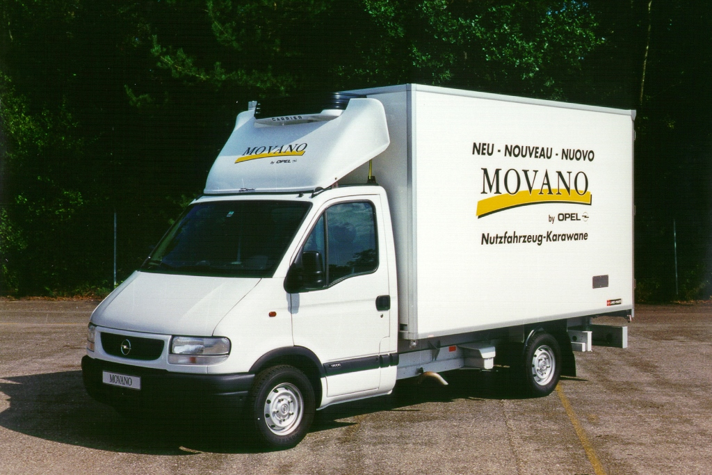 Opel Movano A, 1998