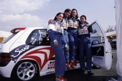 Saxo Cup 1996 , Vallelunga 21-07-1996 , V. Albanese - F. Valtolina - S. Braggiotti - V. Marchesi