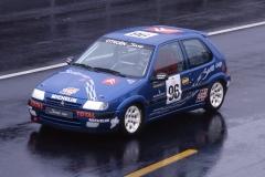 Saxo Cup 1996, presentazione vettura, foto 1