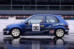 Saxo Cup 1996, presentazione vettura, foto 4