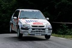 Saxo Rally 1998 , Marca Trevigiana , Brunello - Amadori