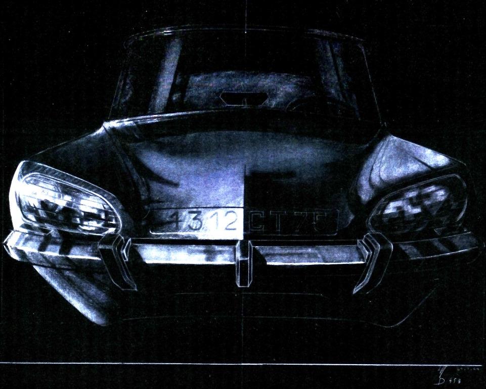 Disegno di Michel Harmand del 1964