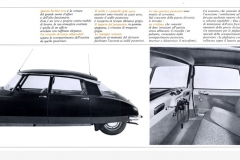 Depliant italiano della DS19 Prestige, 1963, interno