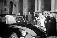 Giovanni XXIII benedice la sua DS19 Prestige