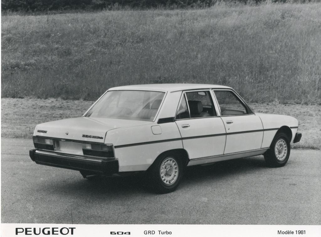 PEUGEOT 604 GRD Turbo 1981