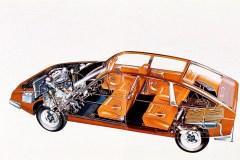 Vista-in-sezione-della-Citroen-CX-1975