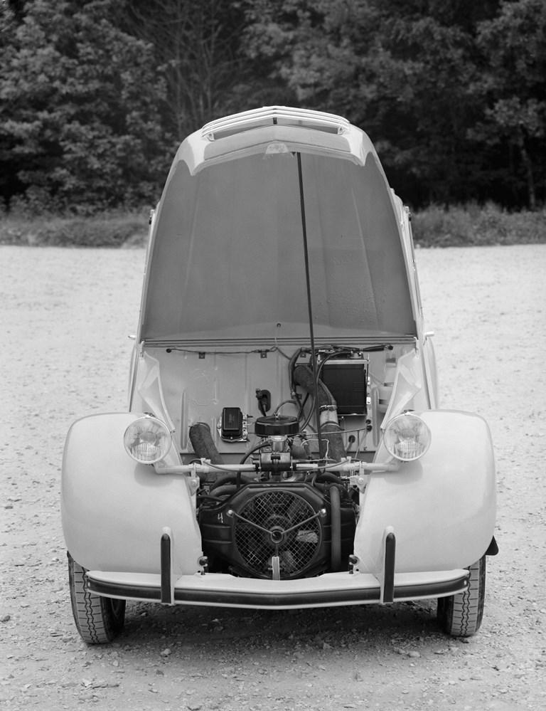 Il motore 2CV nella versione 425cc