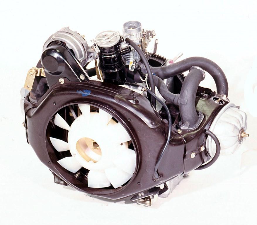 Il motore della 2CV 602cc dal 1970 a fine produzione