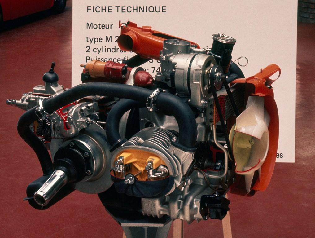 Motore ultima versione, sezionato