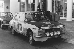 Peugeot 504 Safari Rally 1975
