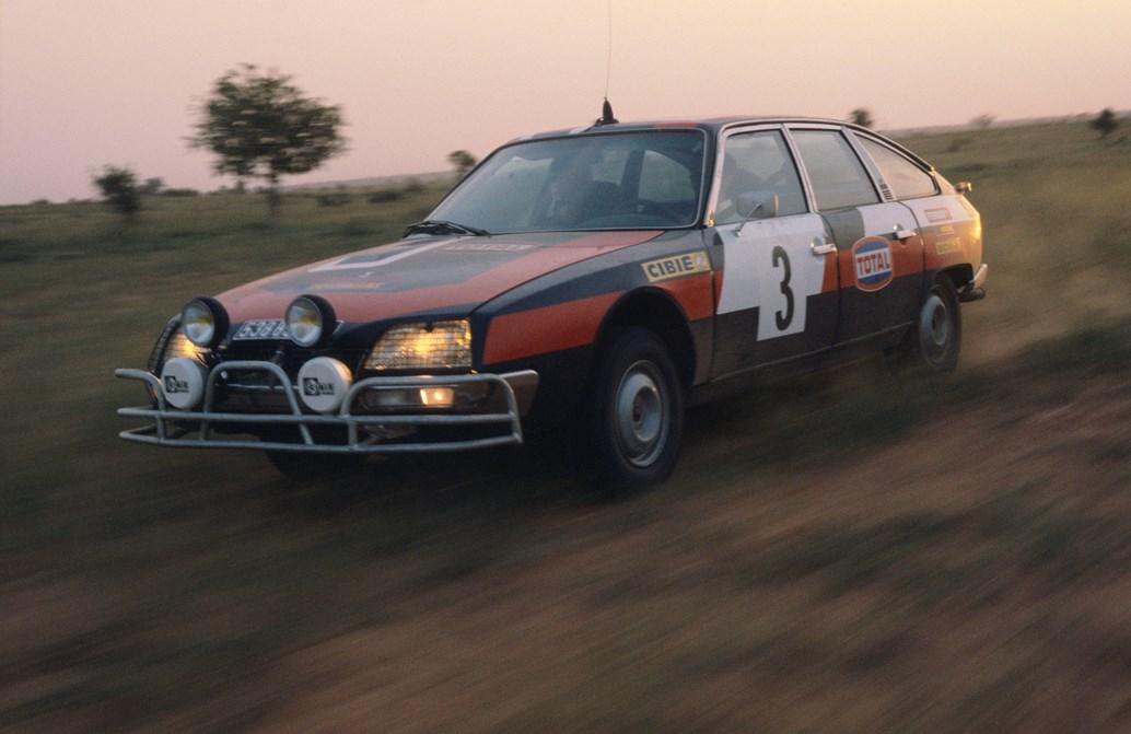 CX2400 Rally del Senegal 1977