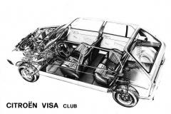 Vista in sezione VISA Club