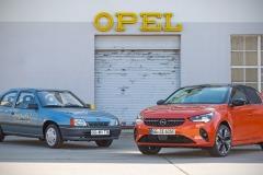 Opel Kadett Impuls I & Opel Corsa-e