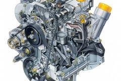 """herausragend wirtschaftlicher Dreizylinder """"Ecotec 1.0 12V"""" von Opel (1995)"""