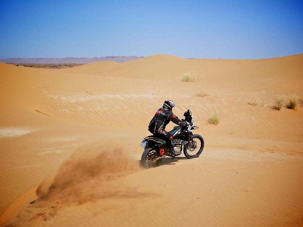 Tacita T-Race Rally in desert