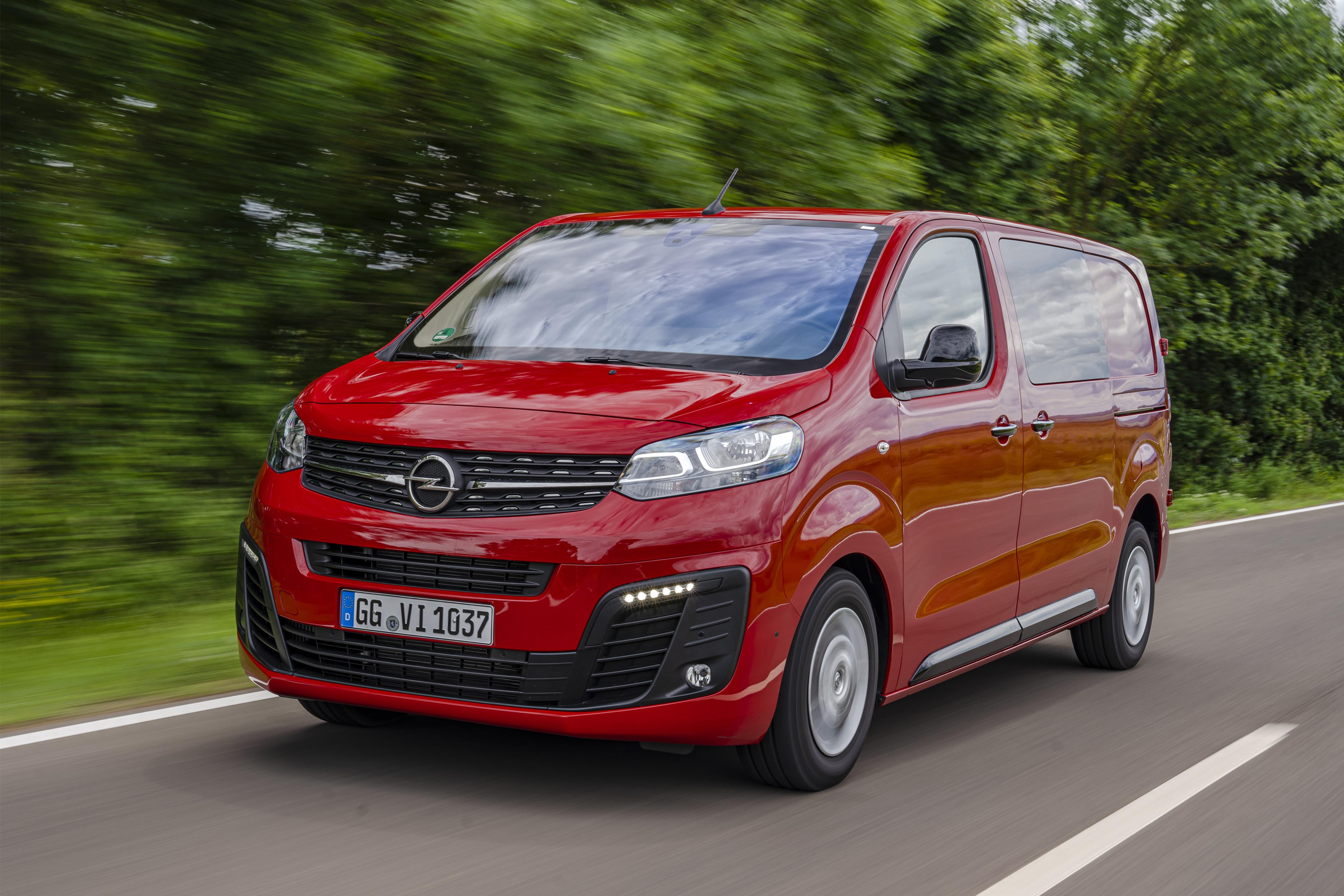 2019 Opel Vivaro CrewVan