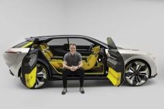 Laurens van den Acker e Renault MORPHOZ