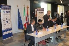 Conferenza Stampa - da sinistra Antonioli, De Santis, Chiamparino e Ilotte-2