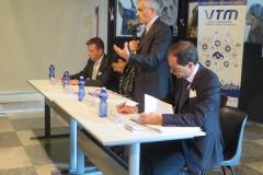Conferenza Stampa - da sinistra Antonioli, De Santis, Chiamparino e Ilotte-4
