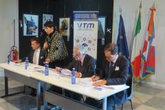Conferenza Stampa - da sinistra Antonioli, De Santis, Chiamparino e Ilotte-5