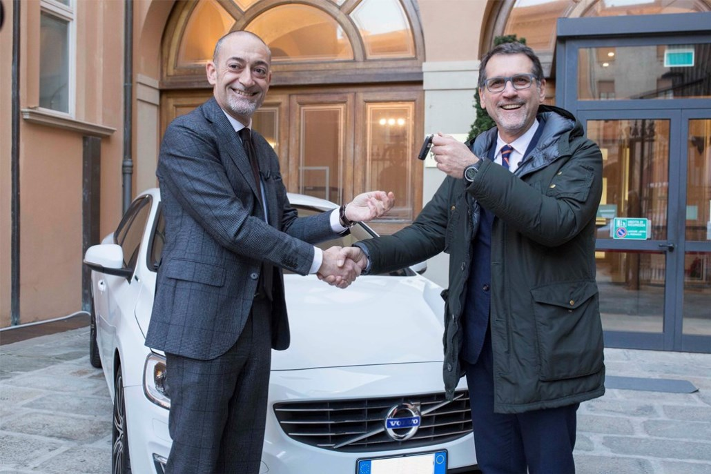 Michele Crisci, Presidente Volvo Car Italia - Virginio Merola, Sindaco di Bologna