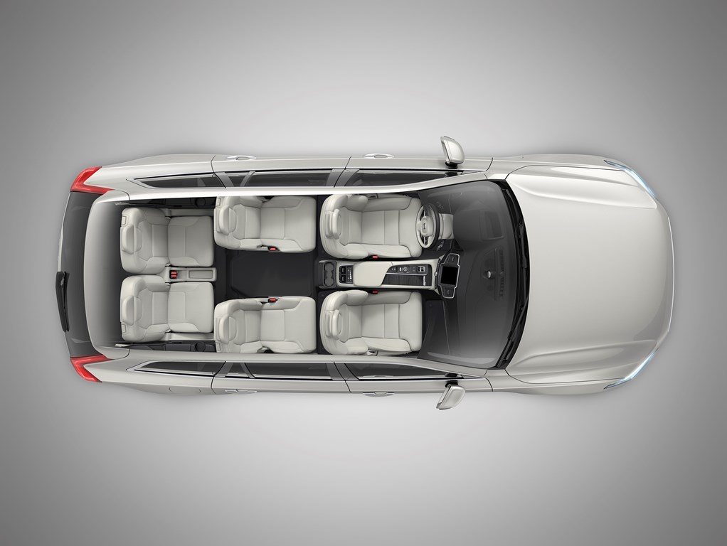 The New Volvo XC90 Inscription T8 Twin Engine seat configuration