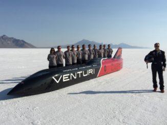 Venturi record velocità