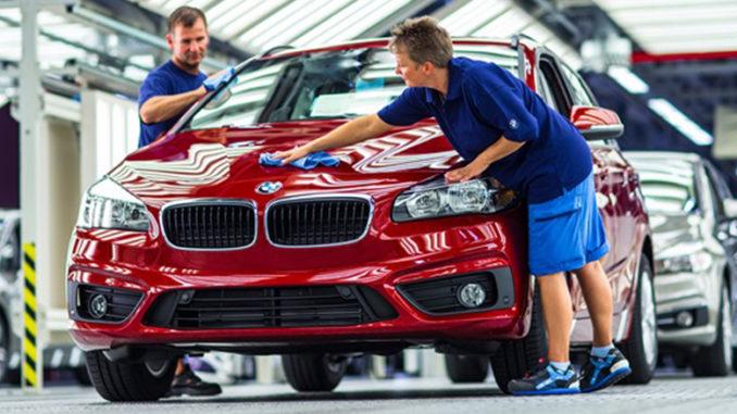 BMW stabilimento di Lipsia