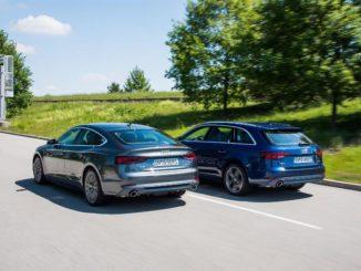 Audi A4 e A5 g-tron