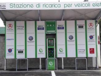 stazione di ricarica veicoli elettrici Rivolta D'Adda
