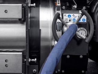 Volvo gas tanking