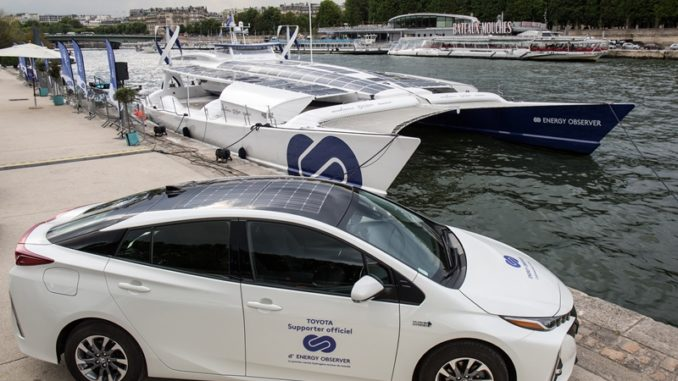 Toyota France supports Energy Observer